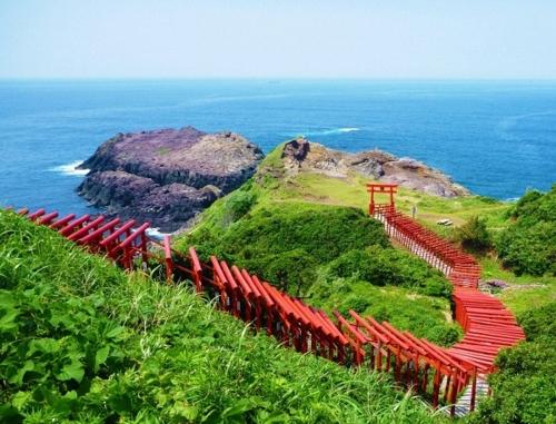 畅享山口绝景巴士(元乃隅神社和角岛路线)