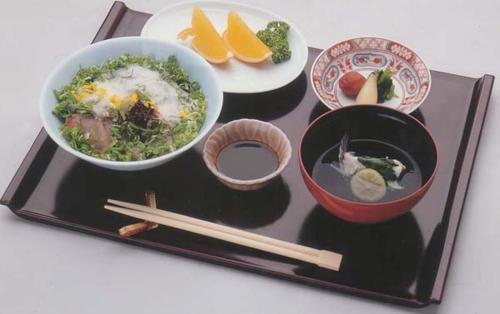 White wall sea foods bowl