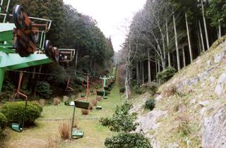 쓰와노 산본마츠 성터 관광 리프트