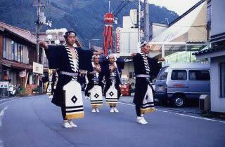Guy journey of the Hihara Tenman-gu Shrine