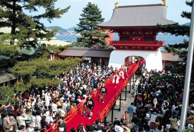 시모노세키 해협 축제