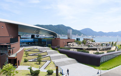 Make Shimonoseki City Operated; Crafts cough aquarium, Kaikyokan