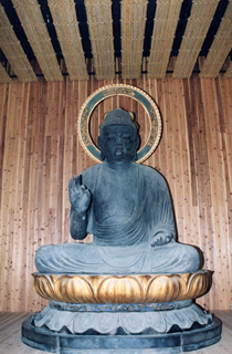 Anyoji  Temple (Seated Wooden Amitabha Statue)
