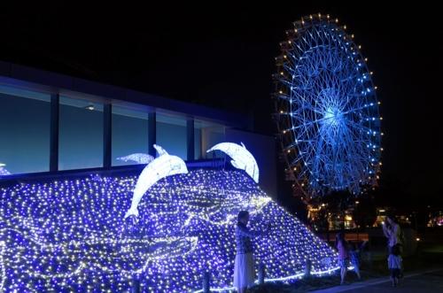 灯rinomachi彩灯水族馆