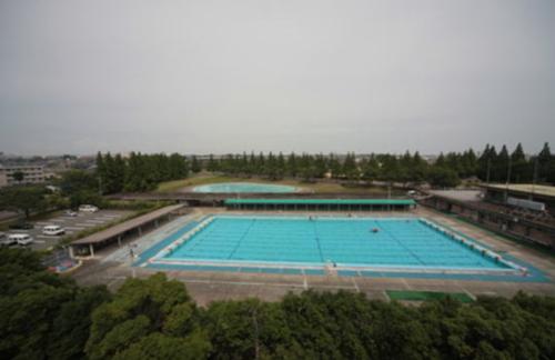 宇部市恩田運動公園遊泳池