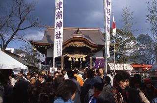 中津浅滩神社立春的前一天