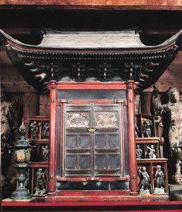 Gachirinji Yakushido Temple with Zushi Ikki Munafuda Nimai