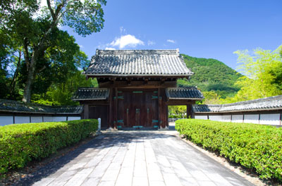 The old Yamaguchi Feudal Administration Office gate