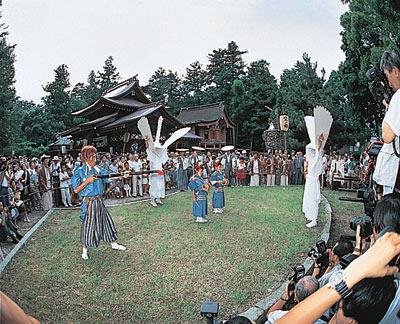 The Yamaguchi Gion festival