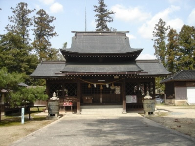 Yasaka Shrine Main hall