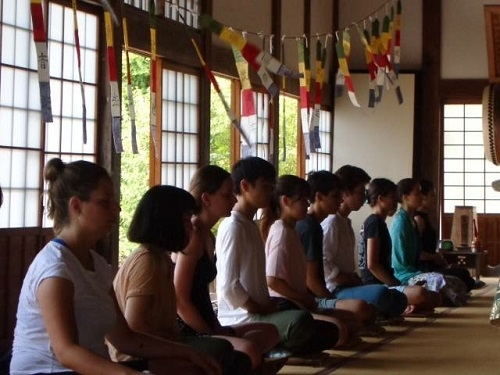 Guidance Tour, Zen Meditation Experience by the Toshun-ji Temple The chief priest