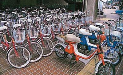 萩租自行車(萩河畔飯店小川)