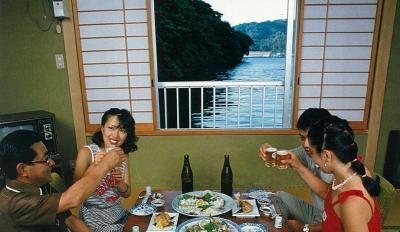 Hagi pearl preparation of fish to look lifelike Traditional Inn