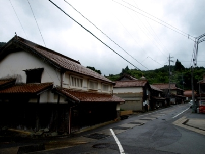 Sasanami, Hagi-shi City traditional buildings Preservation district