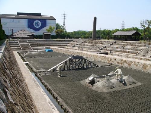 三田尻鹽田記念產業公園裡面的廁所