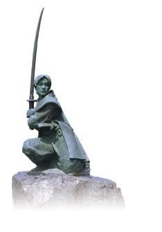 รูปปั้นทองสัมฤทธ์ของโคะจิโระ ซะซะคิ