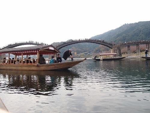 秋季遊覽船「紅葉舟」