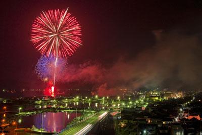 Nagato Senzaki Fireworks Festival