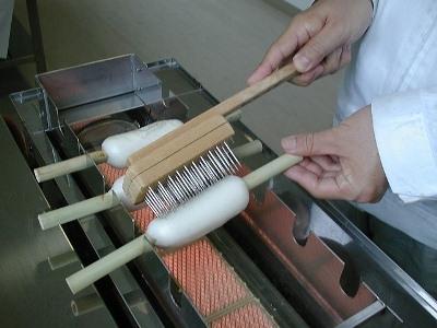 ประสบการณ์ที่ทำด้วยลูกชิ้นปลา Sankyu การทำการประมงลูกชิ้นปลาสตูดิโอ /