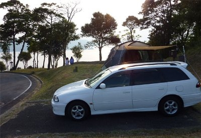오미지마 고산 오토 캠핑장