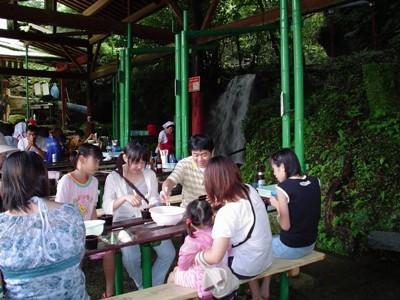 미나카미 공원(소멘나가시)