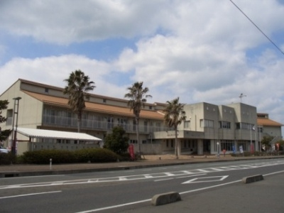 อาคารเมืองซันโยโอโนดะพักค้างคืนการฝึกงานสถานที่คิราร่าแลกเปลี่ยน