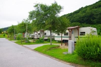 龙王山公园户外露营场地