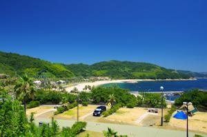 片添滨海滨公园户外露营场