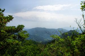 文珠山、容積山、嘉納山、源頭明山健行路線