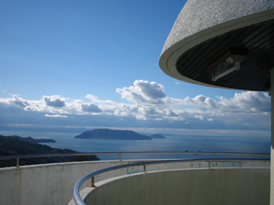 Height of top mountain Observation Deck
