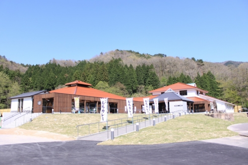 "Roadside Station ""Ganjoju Hot Spring"""