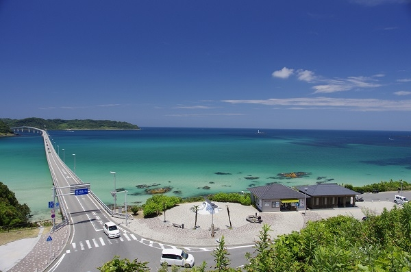 2. Yamaguchi Superb view The enjoyment Bus (Motonosumi Inari Shrine and Tsunoshima Course)
