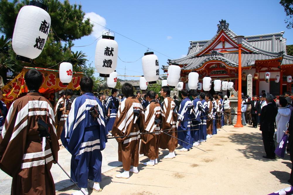 1. Tenjin, Yanai spring Festival