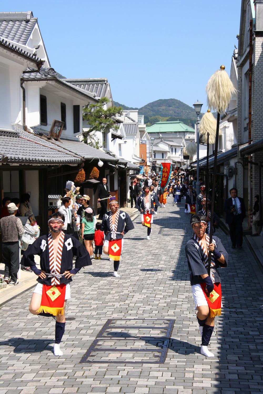 2. Tenjin, Yanai spring Festival