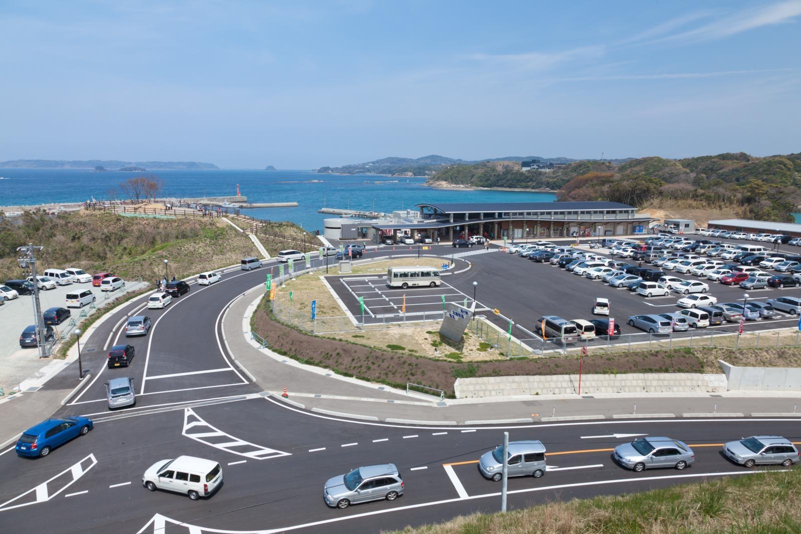 "1. Roadside Station ""Kitaura Kaido Hohoku"""