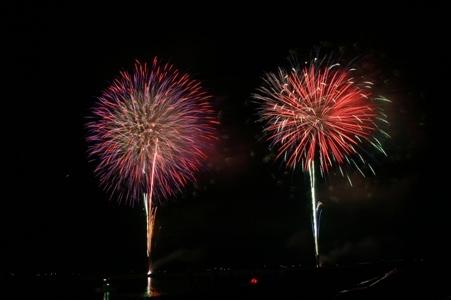 I meet and enshrine Fireworks