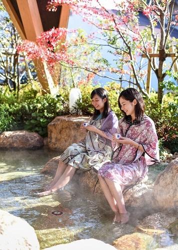 Yuda Onsen Visitor Center Kitsune no Ashi Ato