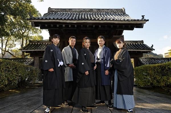 2. Kimono Trial in Yamaguchi City Saikoutei