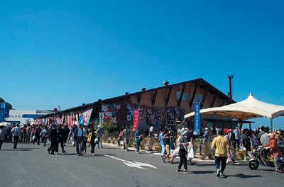 "1. Roadside Station ""Hagi Seaside Mart"""