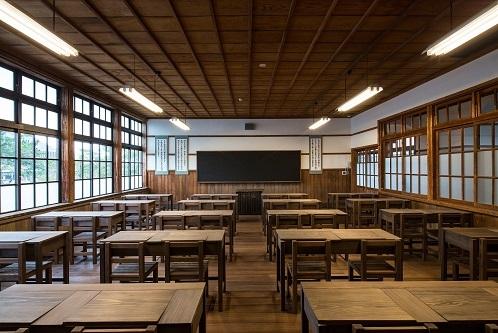 4. Hagi Meirin Gakusya,  School House