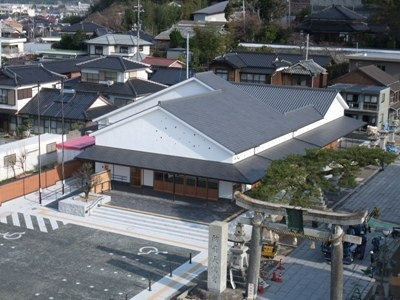 2. Hofu City station Ume-terrace