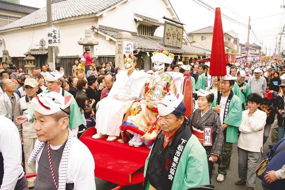 2. Hanaoka Fukutoku Inari Shrine