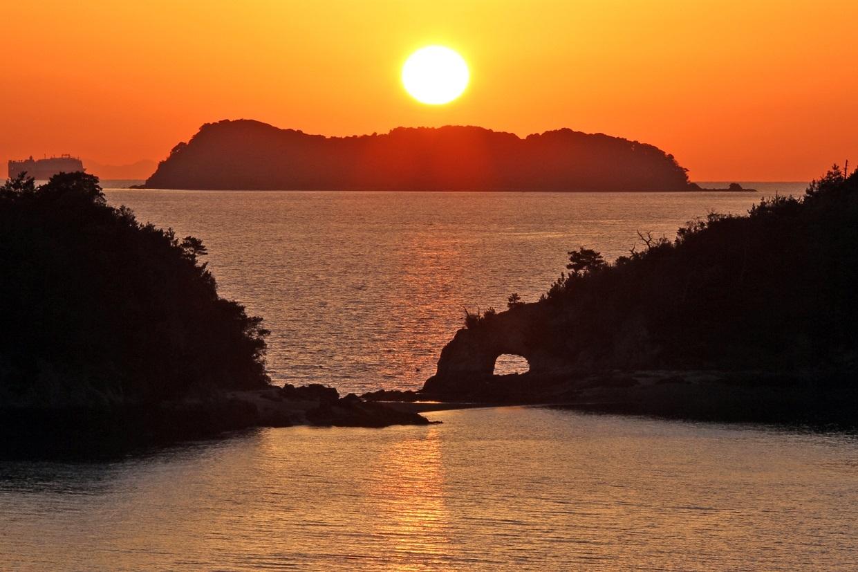 1. 카사도 섬 석양 곶