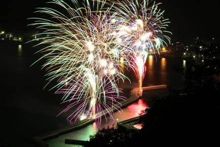 3. Mitarai Bay Fireworks Festival