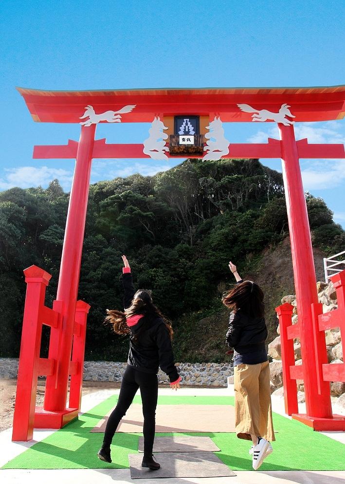 4. Motonosumi  Shrine