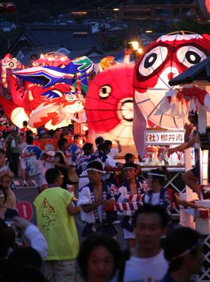 2. 柳井金鱼灯笼祭